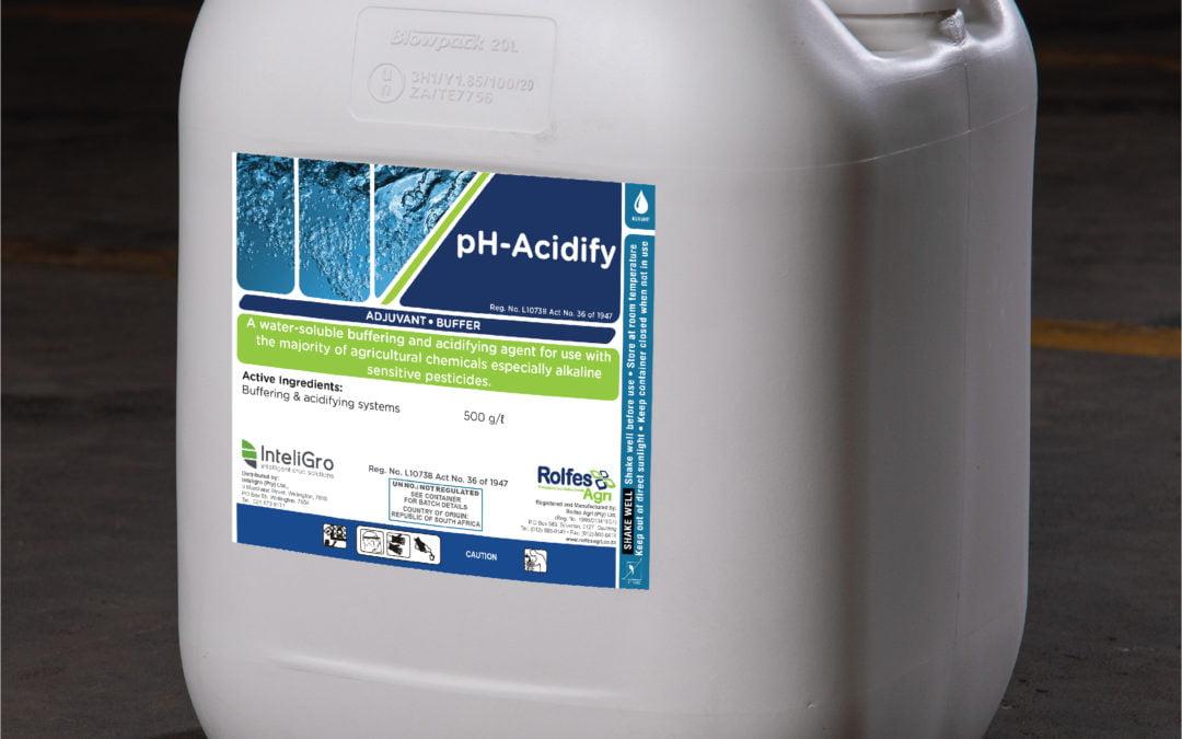 pH-Acidify